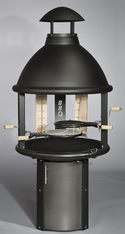 Tundra Grill® BBQ High model black